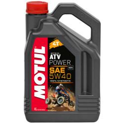 Масло четырехтактное Motul ATV Power 5W-40 (4 л.) 105898