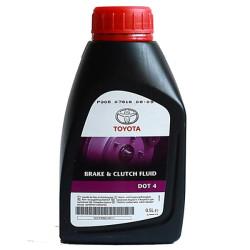 Тормозная жидкость Toyota DOT 4 (0,5 л.) 08823-80111