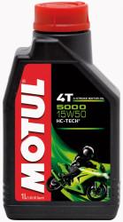 Масло четырехтактное Motul 5000 4T 15W-50 (1 л.) 106012