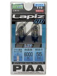 Автолампа PIAA Bulb  LED Lapiz T10 6000K H-870-T10
