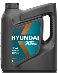 Трансмиссионное масло Hyundai (Kia) Xteer Gear Oil GL-4 80W-90 (4 л.) 1041421