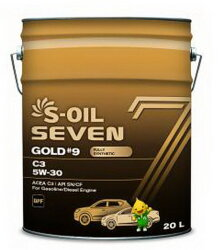Моторное масло S-Oil Seven GOLD9 C3 5W-30 (20 л.) E107766