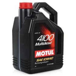 Моторное масло Motul 4100 Multidiesel 10W-40 (5 л.) 100261