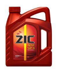 Трансмиссионное масло ZIC ATF SP 4 (4 л.) 162646