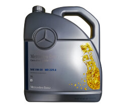 Моторное масло Mercedes 5W-30 229.6 (5 л.) A000989820213BJER