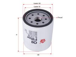 Фильтр масляный Sakura C1110