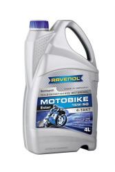 Масло четырехтактное Ravenol Motobike 4-T Ester 15W-50 (4 л.) 1172113-004-01-999