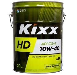 Моторное масло Kixx HD 10W-40 CG-4 (20 л.) L5255P20E1