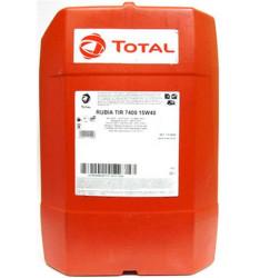 Моторное масло Total Rubia Tir 7400 15W-40 (20 л.) RU113430