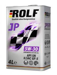 Моторное масло Rolf JP 5W-30 (4 л.) 322272