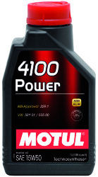 Моторное масло Motul 4100 Power 15W-50 (1 л.) 102773