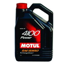 Моторное масло Motul 4100 Power 15W-50 (4 л.) 100271
