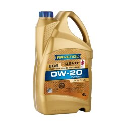 Моторное масло Ravenol ECS 0W-20 (4 л.) 1111102-004-01-999