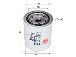 Фильтр масляный Sakura C1112