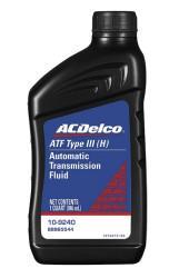 Трансмиссионное масло ACDelco ATF Type III H (1 л.) 109240