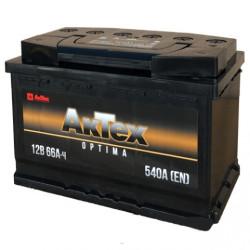 Аккумулятор АкТех Optima 66Ah 540A 278x175x190 п.п. (+-) ATOPT663L