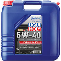 Моторное масло Liqui Moly SynthOil High Tech 5W-40 (20 л.) 1308