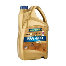 Моторное масло Ravenol SFE 5W-20 (4 л.) 1111110004