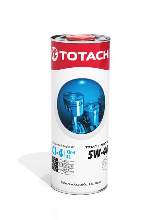 Моторное масло Totachi Niro HD Synthetic 5W-40 (1 л.) 4589904525353
