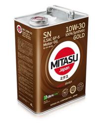 Моторное масло Mitasu Gold 10W-30 (4 л.) MJ1054