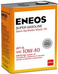 Моторное масло Eneos Super Gasoline SL 10W-40 (4 л.) Oil1357