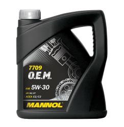 Моторное масло Mannol 7709 O.E.M. 5W-30 (4 л.) 1197