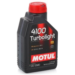 Моторное масло Motul 4100 Turbolight 10W-40 (1 л.) 102774